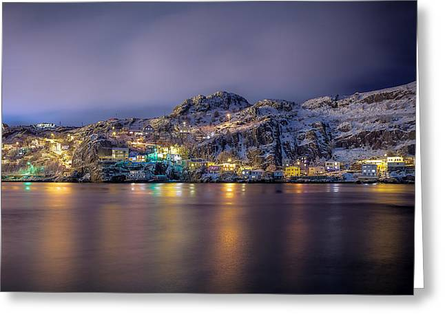 The Battery Greeting Cards - Winter Battery Greeting Card by Gord Follett