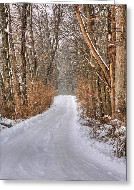 Pa Greeting Cards - Winter Calm Greeting Card by JC Findley