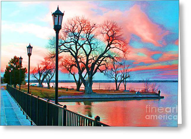 Dap Greeting Cards - Winter Colors Greeting Card by JohnD Smith