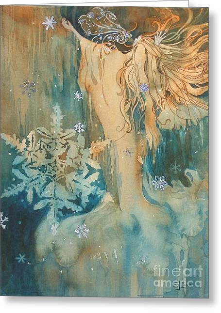 Recently Sold -  - Elizabeth Carr Greeting Cards - Winter Greeting Card by Elizabeth Carr