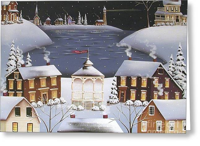 Catherine Greeting Cards - Winter Festival Greeting Card by Catherine Holman