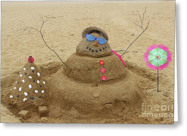 Winter In July Greeting Card by Colleen Kammerer