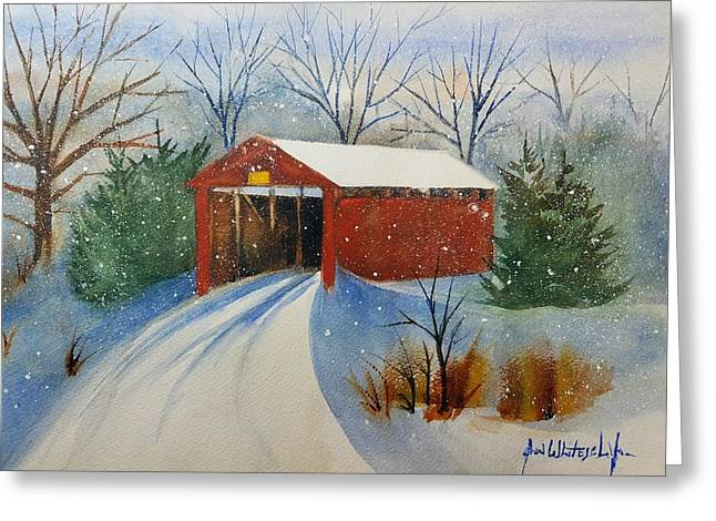 I Want To Believe Greeting Cards - Winter in Lancaster County PA Greeting Card by Don Whitesel