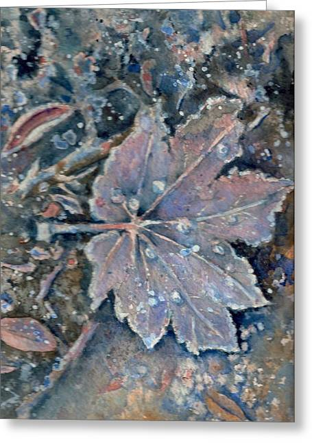 Winter Morn Greeting Card by KC Winters