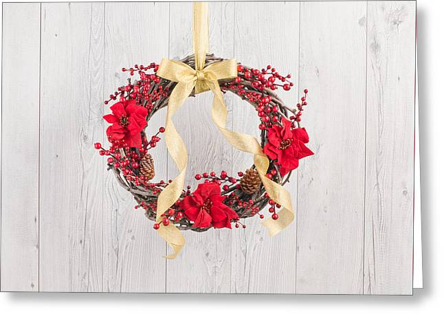 Christmas Eve Greeting Cards - Winter Rose Greeting Card by Ulrich Schade