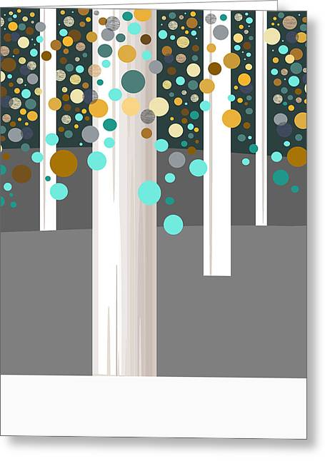 Winter Whites Greeting Card by Val Arie