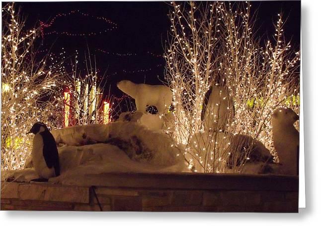 Anna Villarreal Garbis Greeting Cards - Winter Wonderland Greeting Card by Anna Villarreal Garbis