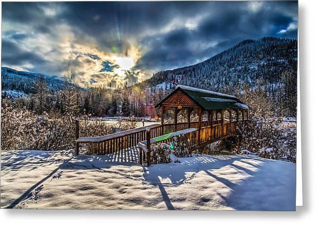 Kingston Greeting Cards - Winter Wonderland Greeting Card by Derek Haller