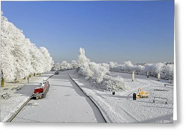 Winter Wonderland Greeting Card by Rod Johnson