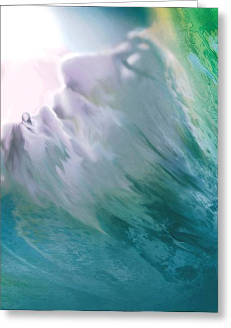Angels Breath Greeting Cards - Wisdom Greeting Card by Natalie LaRocque