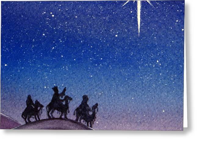 Wise Men Greeting Card by Christina Meeusen