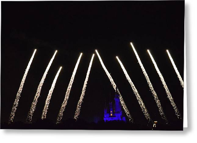 Wishes Greeting Cards - Wishes A Magical Gathering of DIsney Dreams Greeting Card by James Feeney
