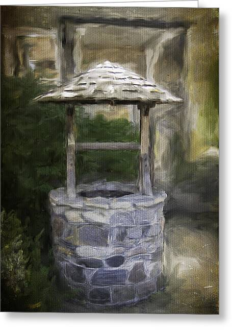 Wishes Greeting Cards - Wishing Well Greeting Card by Eduardo Tavares