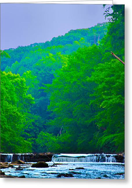 Philadelphia Digital Greeting Cards - Wissahickon Creek Greeting Card by Bill Cannon