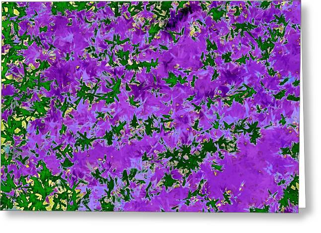 Flower Photos Tapestries - Textiles Greeting Cards - Wisteria Dreams Greeting Card by Suzi Freeman