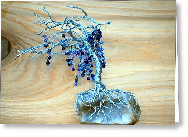 Vines Sculptures Greeting Cards - Wisteria Greeting Card by Gwendolyn Frazier