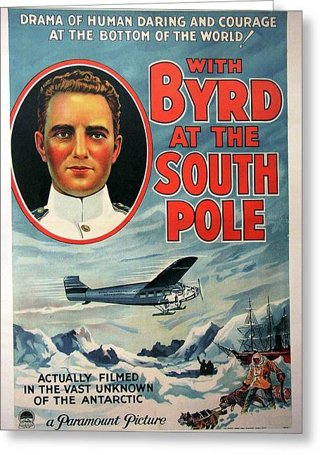 With Byrd At The South Pole 1930 Greeting Card by Mountain Dreams