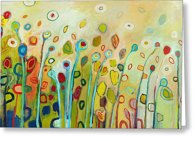 Nature Abstracts Greeting Cards - Within Greeting Card by Jennifer Lommers