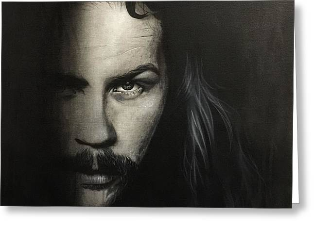 Metallica Greeting Cards - Within The Shadows of Darkness Greeting Card by Christian Chapman Art