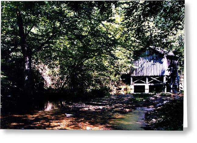 Tennessee Barn Greeting Cards - Wolf Creek Greeting Card by Kay Sawyer