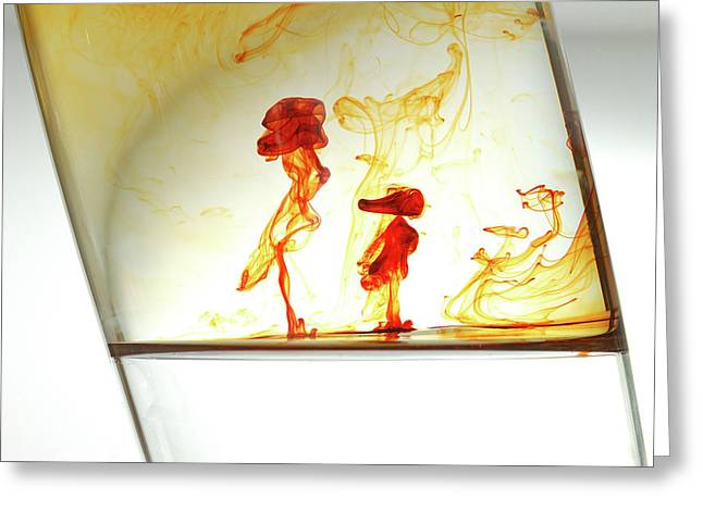 Silhouettes Greeting Cards - Women and child Greeting Card by Ivan Vukelic