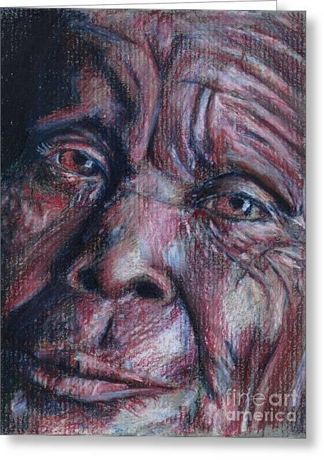 Women Of Humbawe Greeting Card by Lazaro Lopez