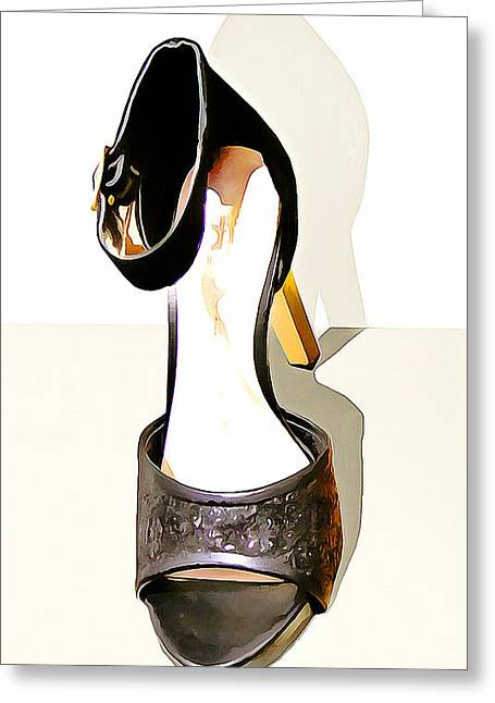 Womens High Heel Stiletto Shoes 20160227 Vertical Greeting Card by Wingsdomain Art and Photography