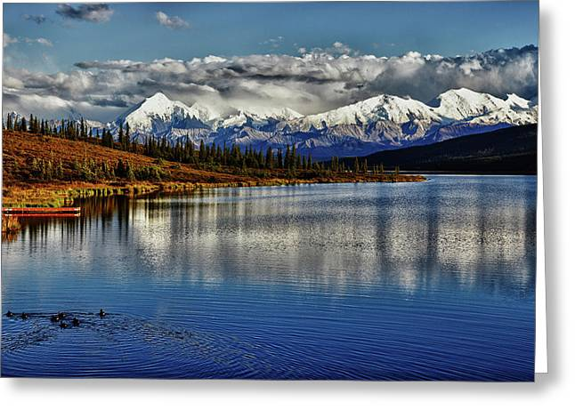 Denali Greeting Cards - Wonder Lake III Greeting Card by Rick Berk