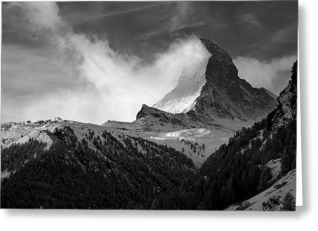 Wonder of the Alps Greeting Card by Neil Shapiro