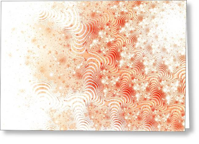 Stretchy Greeting Cards - Wonkas Stripes Greeting Card by Lauren Goia
