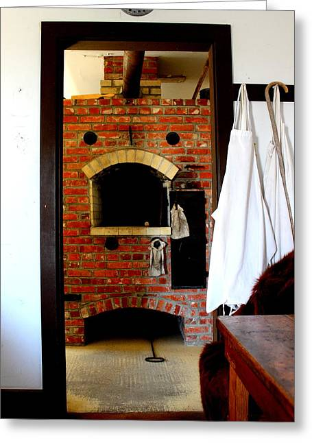Fed Greeting Cards - Wood Fired Oven Ft Hartsuff Nebraska by Earls Photography Greeting Card by Earl  Eells a