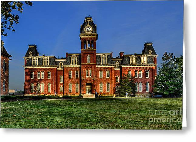 Woodburn Greeting Cards - Woodburn Hall in morning Greeting Card by Dan Friend
