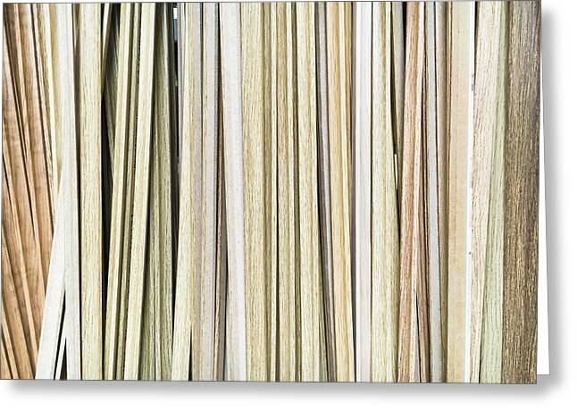 Wooden Floor Trims Greeting Card by Tom Gowanlock