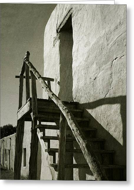 Wooden Stairs Greeting Cards - Wooden Stairs Greeting Card by Charles McKelroy