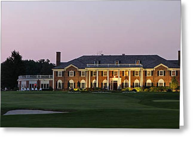 Auburndale Greeting Cards - Woodland Golf Club Greeting Card by Juergen Roth
