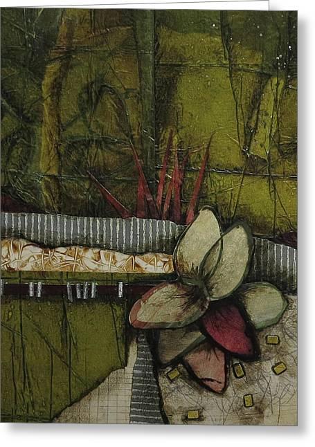 Woods Medicine  Greeting Card by Laura Lein-Svencner