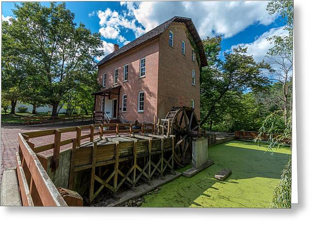 Grist Mill Greeting Cards - Woods Mill Greeting Card by Kevin Graham