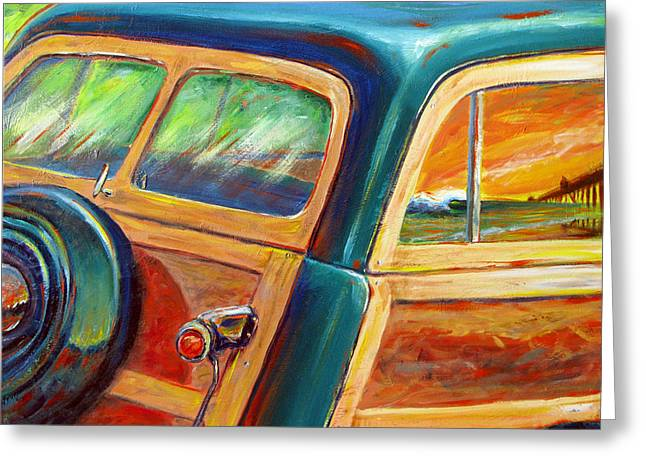 Woody Wagon Greeting Cards - Woody Greeting Card by Patrick Parker