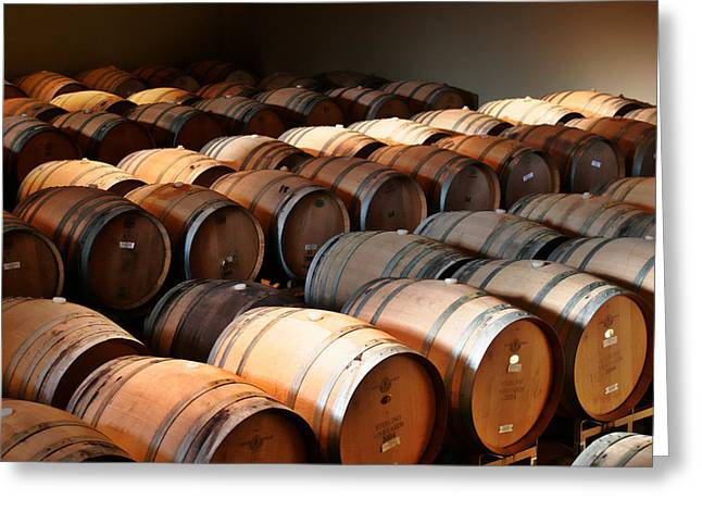 Fermentation Photographs Greeting Cards - World-class wine is made in California Greeting Card by Christine Till
