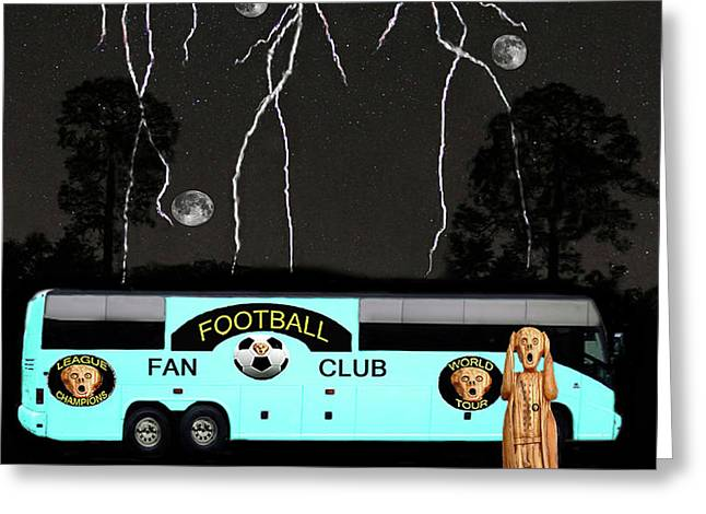 World Football Official Member Greeting Card by Eric Kempson