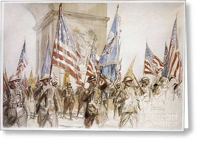 World War I: Victory Parade Greeting Card by Granger
