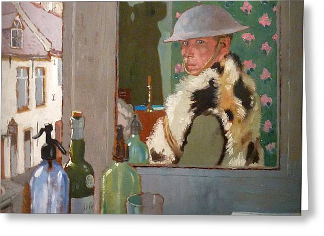 World War One Greeting Card by William Orpen