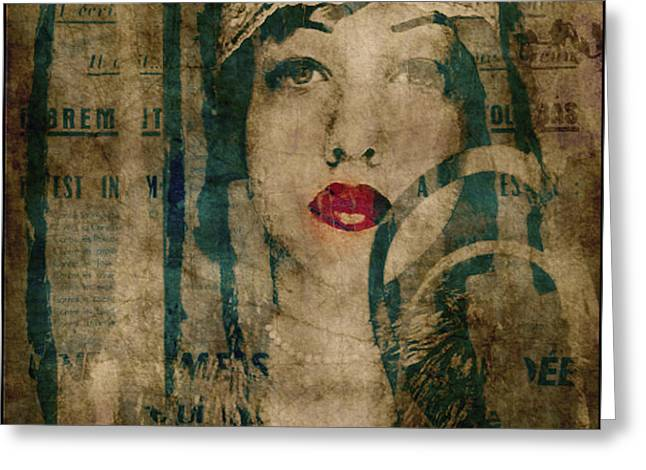 World Without Love  Greeting Card by Paul Lovering