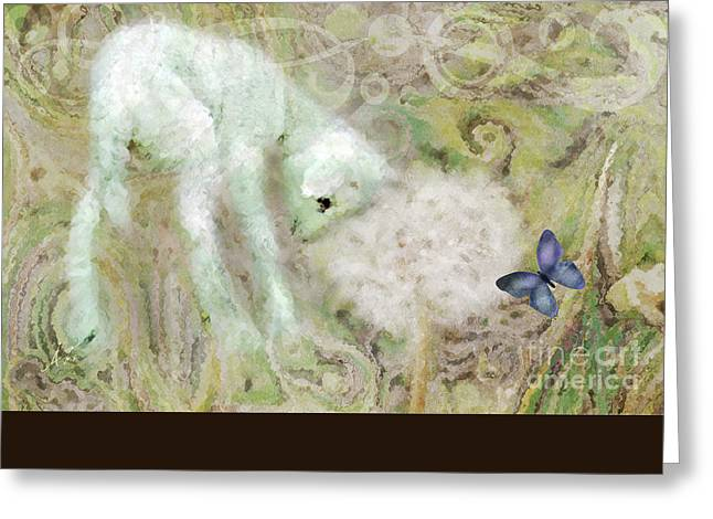 Wishes Greeting Cards - Worthy is the Lamb Greeting Card by Anita Faye