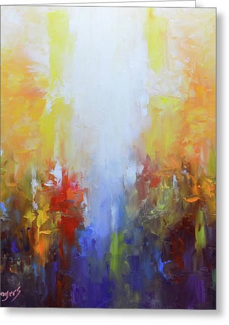 Worthy Is The Lamb Greeting Card by Mike Moyers