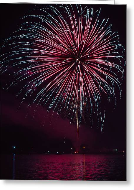 Rockets Red Glare Greeting Cards - Wow Factor Greeting Card by Bill Pevlor