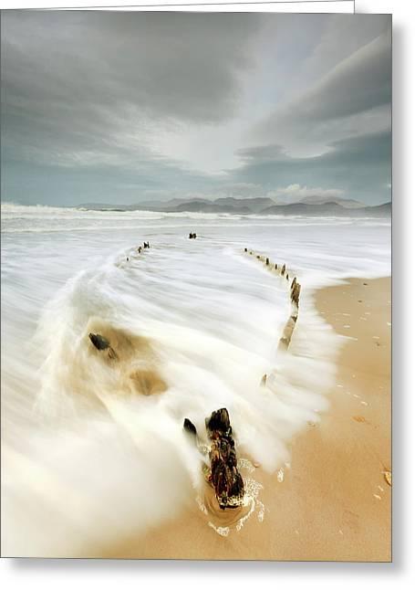 Wreck Of The Sunbeam Greeting Card by Pawel Klarecki