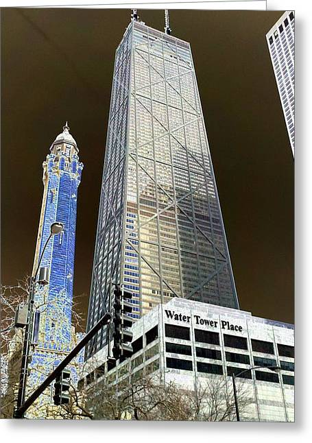 Magnificent Mile Greeting Cards - W T Hancock 1 Greeting Card by Kevin Flynn