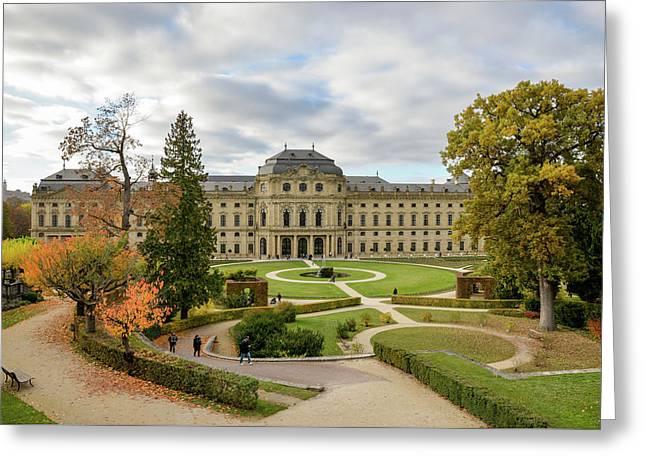 Wurzburg Residence Greeting Card by Motty Henoch