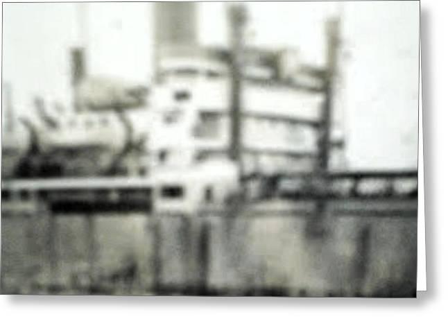 My Ocean Greeting Cards - WW2 Ship 3 Greeting Card by ConnieAnn LaPointe